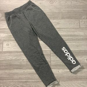 5/$25 • Adidas • Spellout Joggers